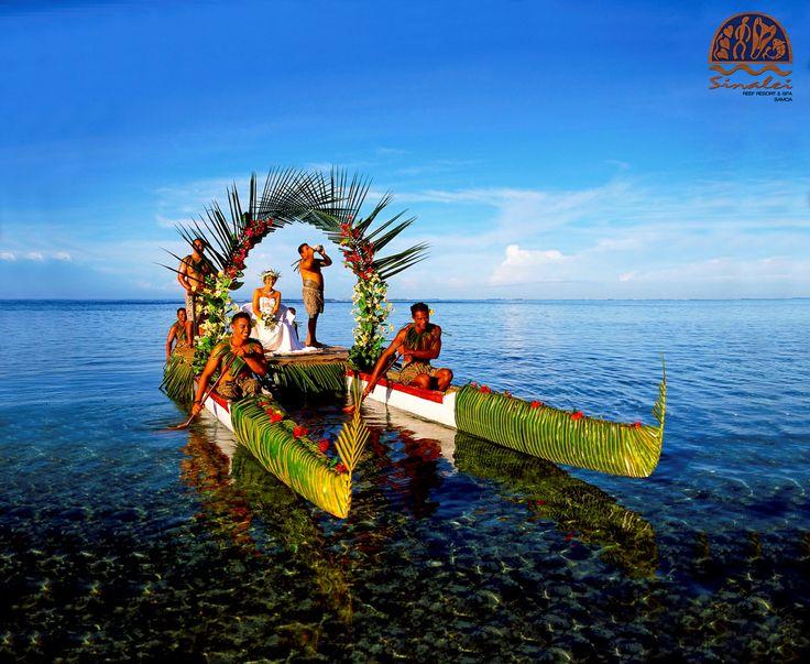 Beautiful Sinalei Reef Resort & Spa Wedding! #sinalei #samoa #wedding #weddinginspiration #island