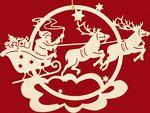 Мобильный LiveInternet трафареты для новогодних окон   Хьюго_Пьюго_рукоделие - рукоделие, вязание, кулинария, домоводство  