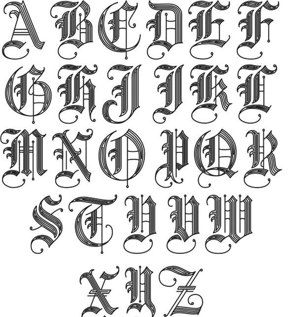 old english letters fonts 2 jpg 621 215 643 tats letters 43761