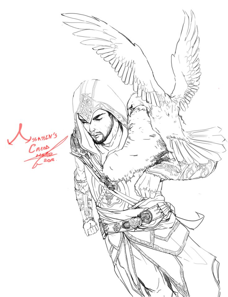 146 best images about coloriage assassin u0026 39 s creed on
