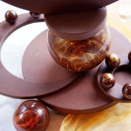 Centrepiece of a Sisko chocolate sculpture?