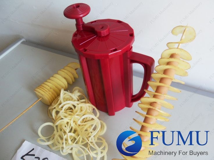 Spiral potato machine | FOMACHINE