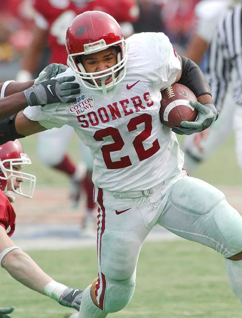Oklahoma Sooners scat back Quentin Griffin