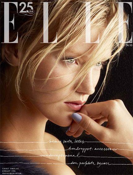 ELLE nr 10/2013 (prenumerationsomslaget)