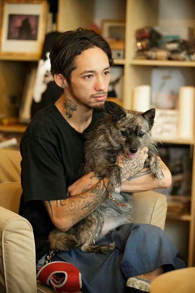 JESSEと愛犬banbi