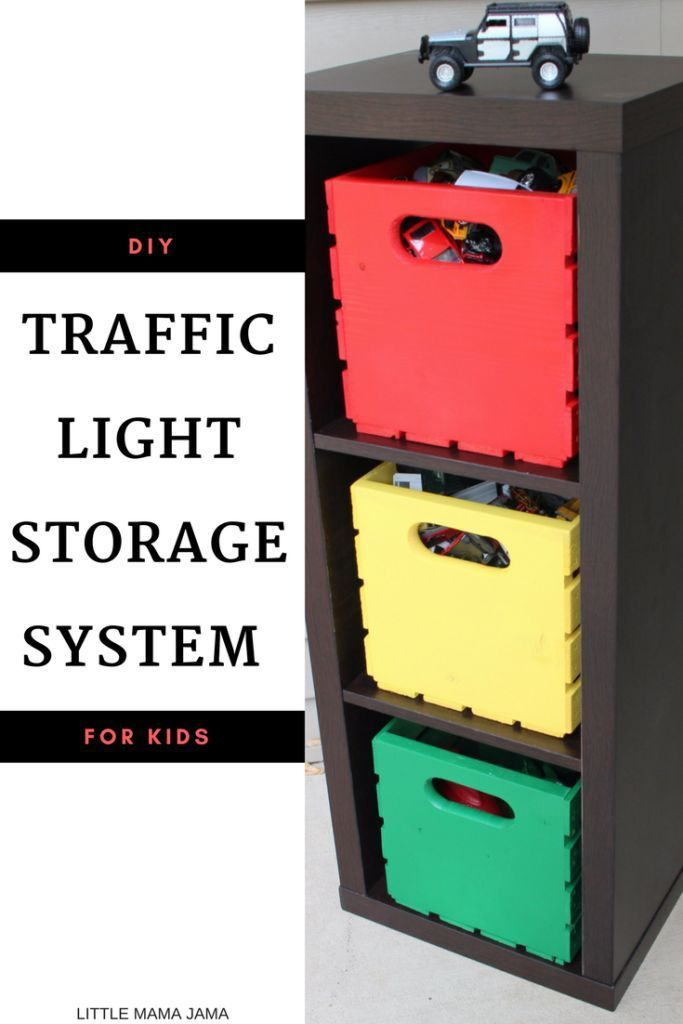diy traffic light storage system for kids toddler craft storage rh pinterest ca