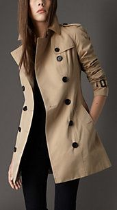 *WANT: trench coat.