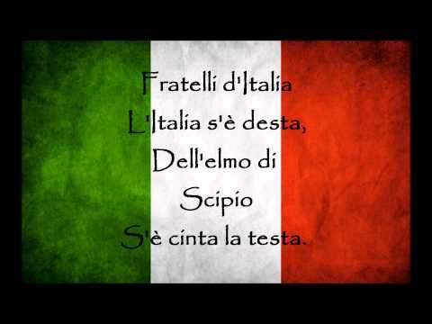Himno de Italia + Letra (Testo) - YouTube
