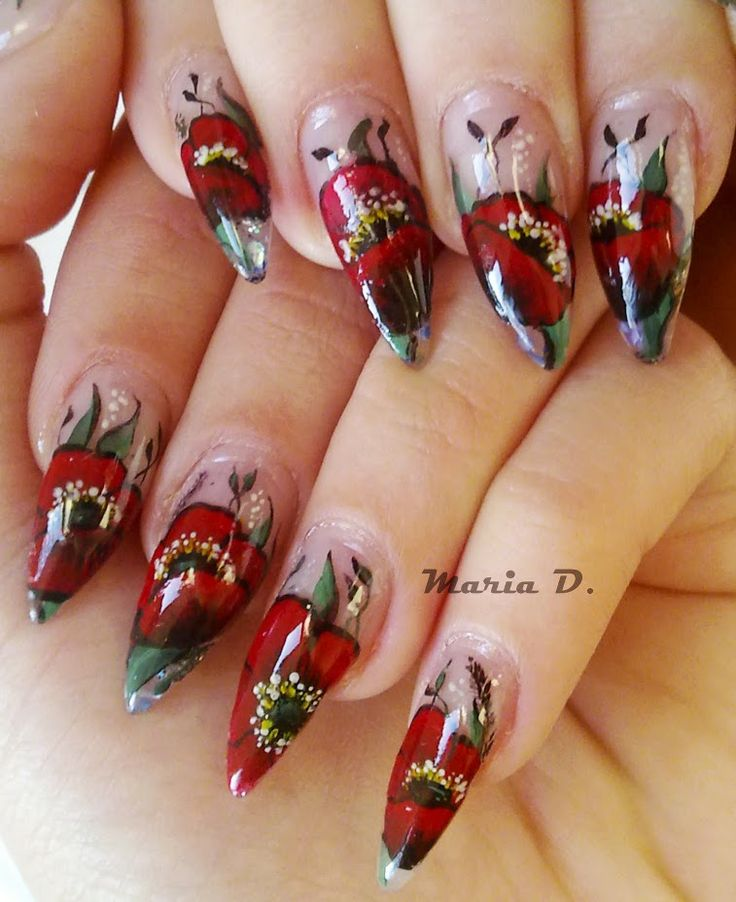 Christmas Nails Long: 24 Best Images About Long Nails On Pinterest