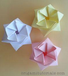 Origami StarPuff Box Tutorial