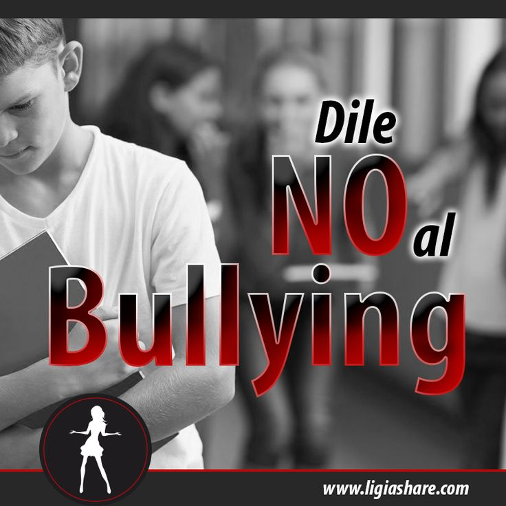 """Hoy celebramos el """"Día Mundial de Lucha contra el #Bullying"""" apoyemos esta causa y dile NO AL BULLYING  Today we celebrate the """"World Day of Fight against #Bullying"""" support this cause and say NO TO BULLYING  www.ligiashare.com  #Nobullying #DiaMundialContraElBullyng #Fightagainstbullying #luchacontraelbullying #acoso #WorldBullyingDay #acosoescolar"""