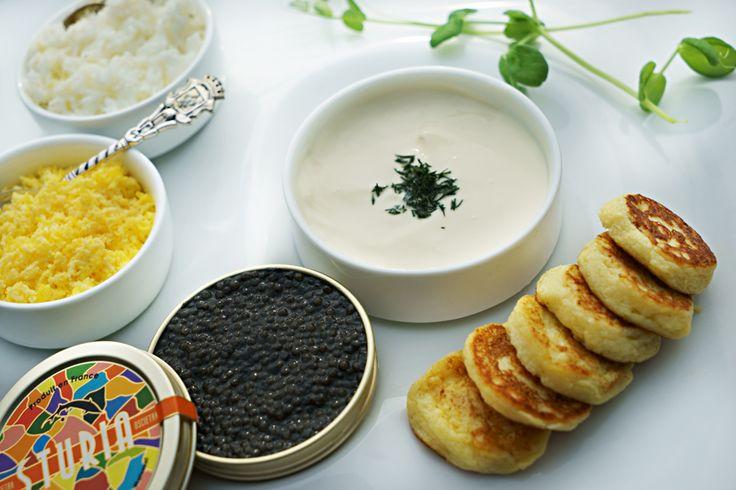 Caviar.  Space champagne & caviar. Luna2 studiotel, bali. #Lunafood #champagne #caviar #bar