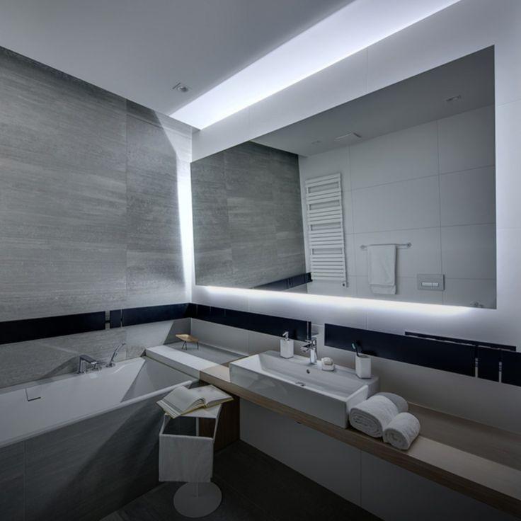 Oświetlenie LED sprawdza się także w łazience. Nas urzeka, a Was? :)