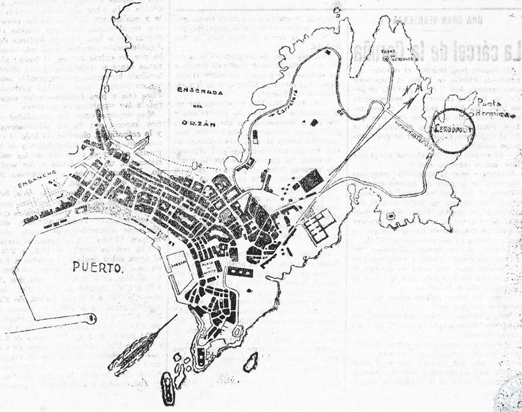 PLANO DA CORUÑA COA UBICACIÓN DE CERDOPOLIS para saber más:  http://www.galiciana.bibliotecadegalicia.xunta.es/gl/catalogo_imagenes/grupo.cmd?path=1143698&interno=S&presentacion=pagina&posicion=2
