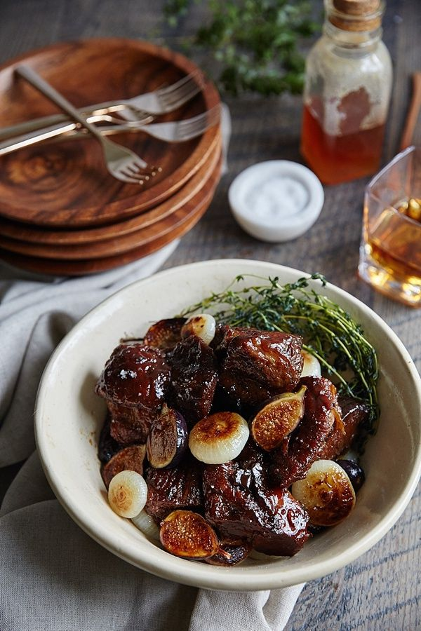 Honey Bourbon braised pork shoulder