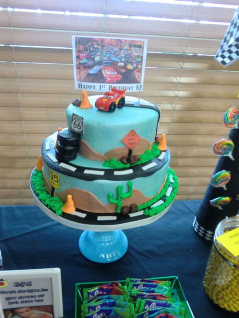 """Photo 1 of 12: inspired by the """"Cars"""" movie / Birthday """"The Need for Speed"""" 