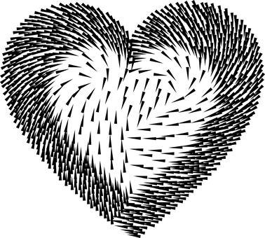 Kolczasty, Ramion, Serce, Miłość