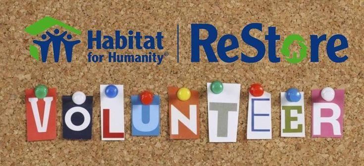 Habitat for Humanity ReStore Volunteer