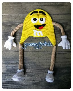 jJUST BECAUSE IT IS SO CUTE!! M & M Hat pattern by JoAnne Grimm Thompson on Raverlry