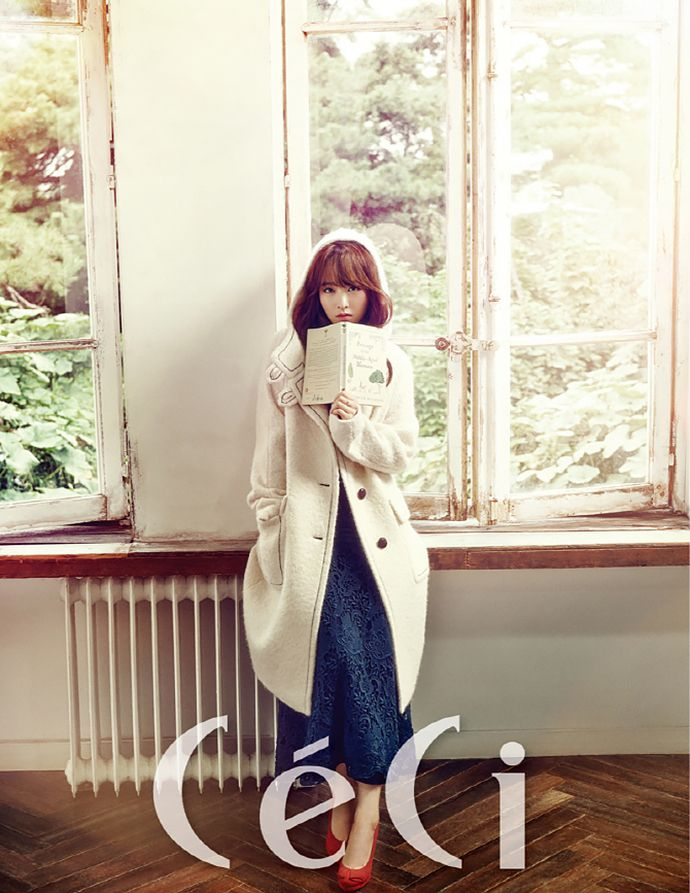 Park Bo Young Covers CeCi China's October 2015 Issue | Couch Kimchi