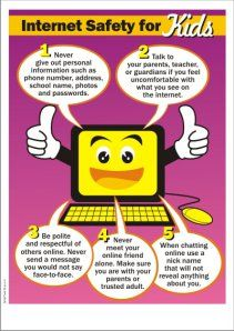 How to Teach Internet Safety in k-6  some great ideas for 3-5