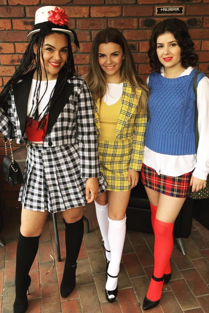 90s Girls! You'll Obsess Over These Nostalgic Group Costumes