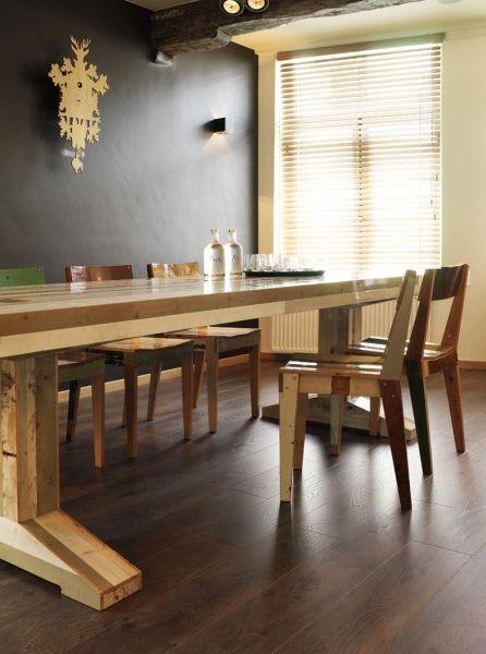 les 25 meilleures id es de la cat gorie parquet stratifi sur pinterest. Black Bedroom Furniture Sets. Home Design Ideas