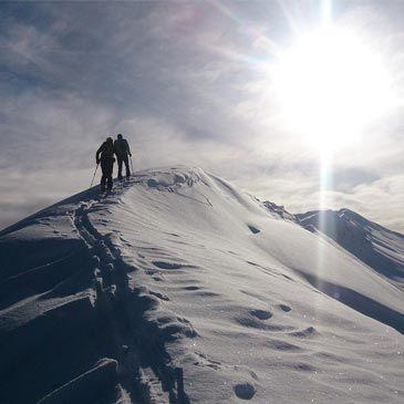Randonnée Raquette Alpes Puy-Saint-Vincent en Soirée Hautes-Alpes 05