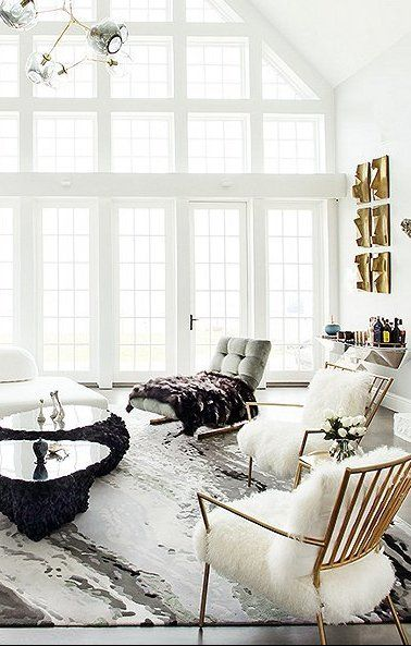 inside a glam home on the hudson in 2019 color white home rh pinterest com