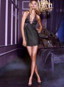 Satin slip by Victoria's Secret.
