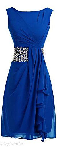 Sunvary Short Formal Chiffon Dress