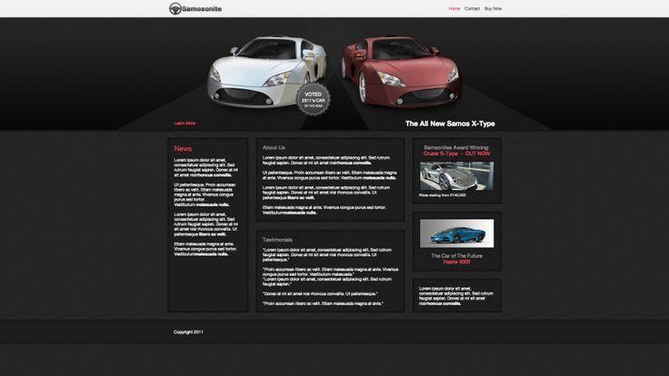 Diseño web sector vehiculos, conceionarios,talleres