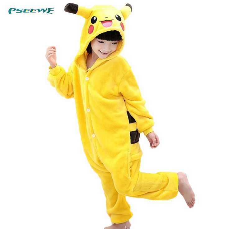 2016 Flannel Warm kids pyjama fille Boy girl pyjama sets Pikachu Flannel cartoon cosplay christmas pijama infantil kids #>=#>=#>=#>=#> Click on the pin to check out discount price, color, size, shipping, etc. Save and like it!