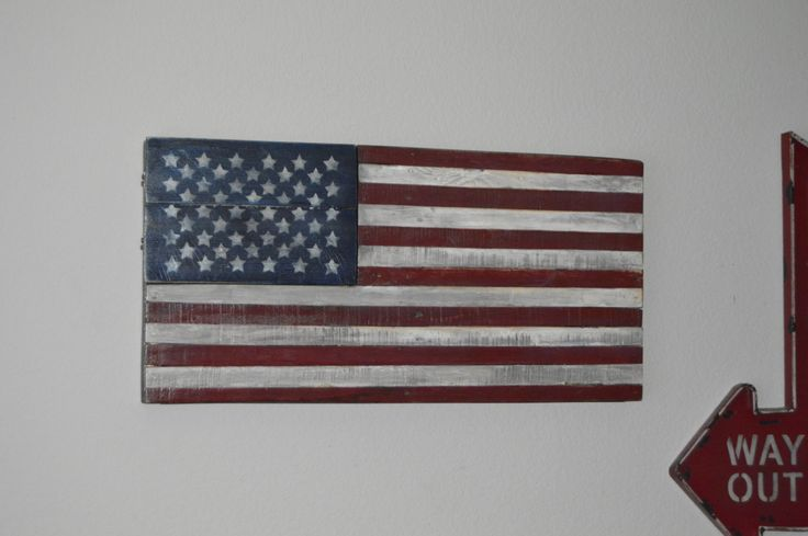 Wooden American Flag,Distressed,Rustic American Flag + Hidden Storage,Rustic Wood Flag,USA Flag,Large American Wood Flag,Hidden Compartment by PKWoodDeSigns on Etsy