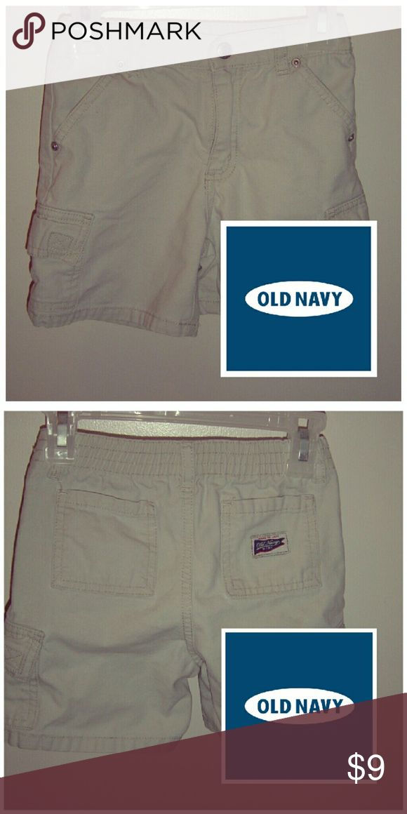 Boys cargo shorts Belt loops  / front and back pockets / elastic waist / side pockets  / 100% cotton Old Navy Bottoms Shorts
