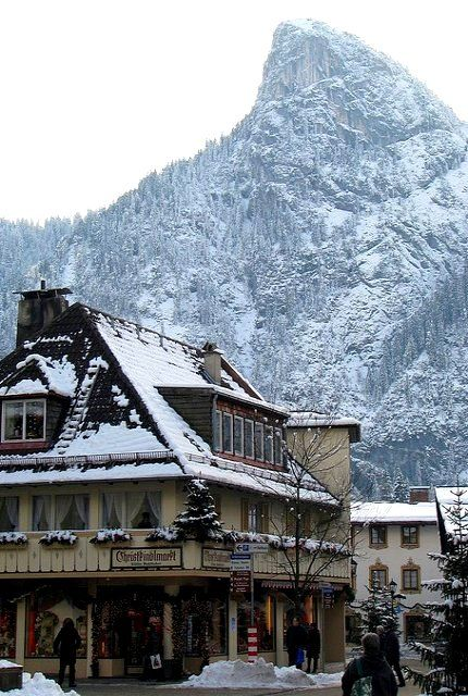 Oberammergau, Bavaria, Germany | Flickr - Photo by winninator