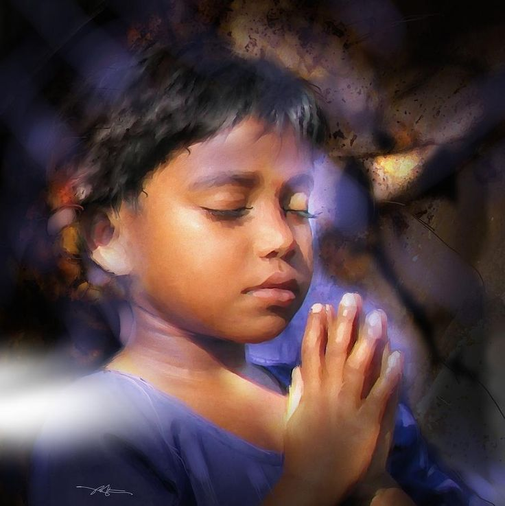 children praying images | why worry when you can pray worry is just the little mind running ...