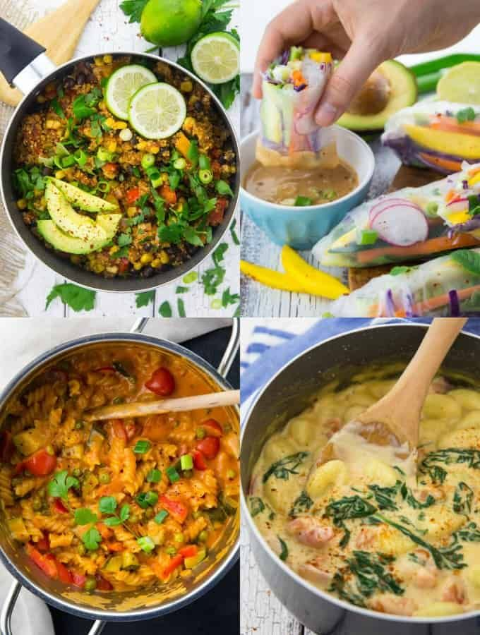 Simple Vegan Recipes Dinner