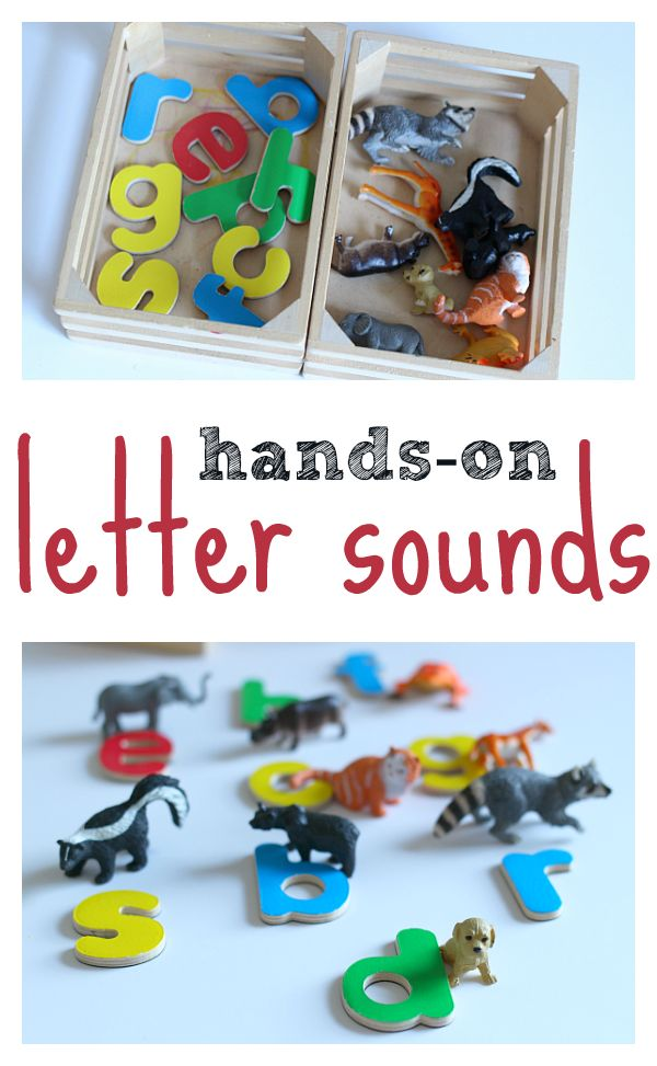 Letter sounds activity for pre-kindergarten and kindergarten. Easy early literacy activity.