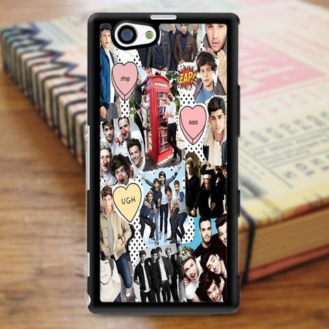One Direction Collage Sony Experia Z3 Case