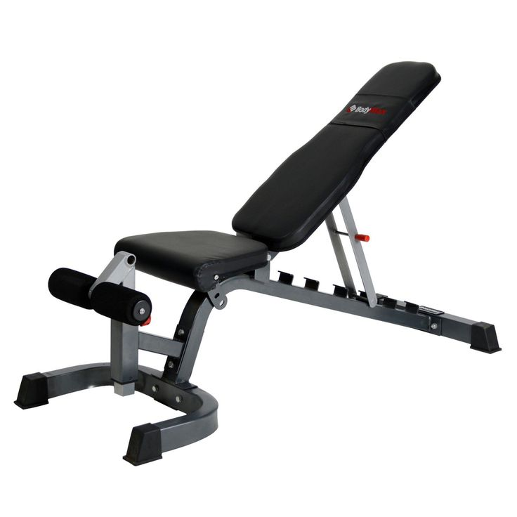 Bodymax CF430 Heavy Duty Flat/Incline/Decline Bench - Weight Benches - Strength at Powerhouse Fitness