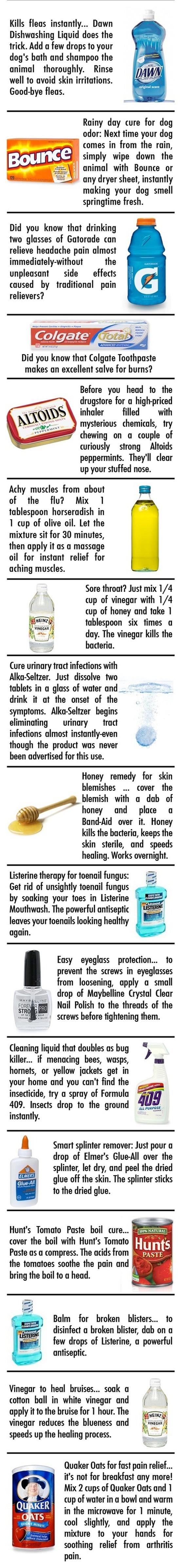 Household Tips #helpfulhints #DIY #healthtips-different