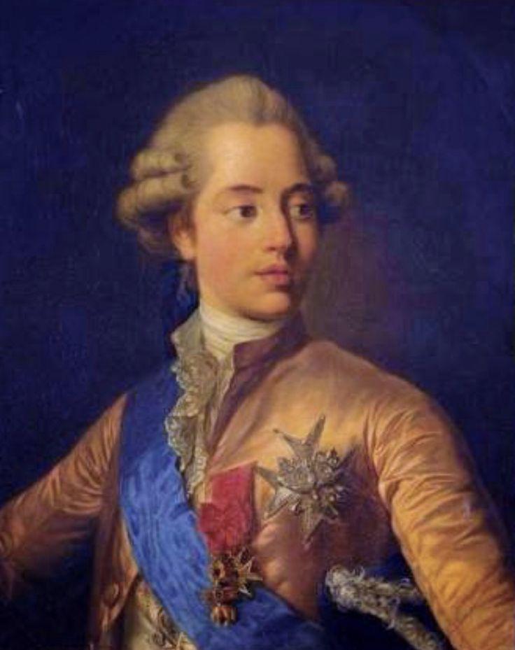 Charles Philippe De France Comte D Artois Il Etait Le Frere Plus Petit Du Roi Louis Xvi Luis Xv De Francia Retratos Luis Xv