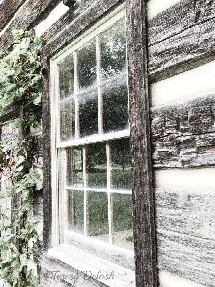 1762 #LogCabin #Window 2 #Photograph