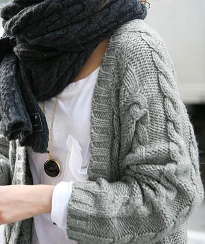 love the different color knits