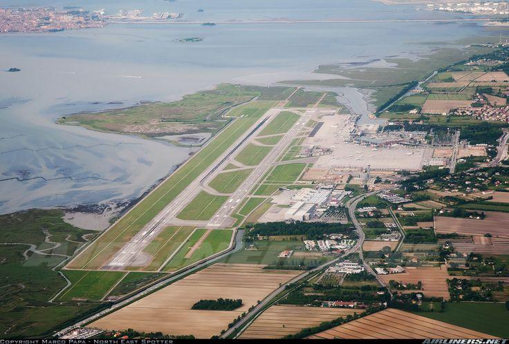 Marco Polo Airport, Venice, Italy. (VCE)                                                                                                                                                                                 Mais