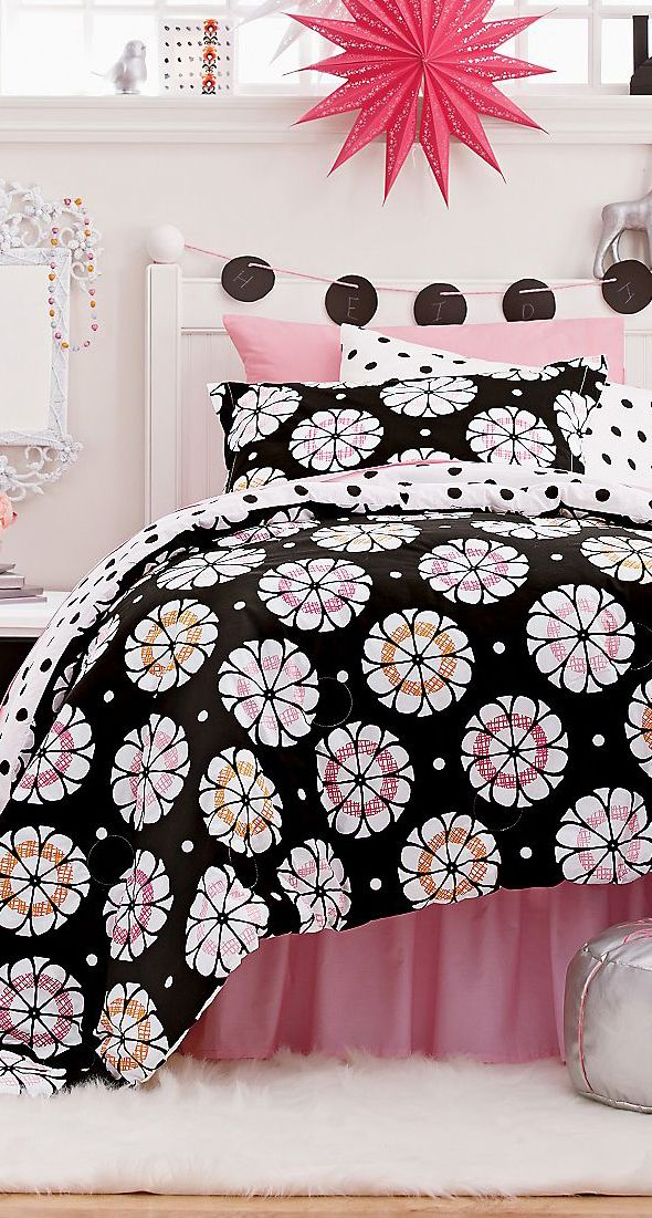 Best GIRLS ROOMS Images On Pinterest Bedding Collections - Stylish bedding for teen girls
