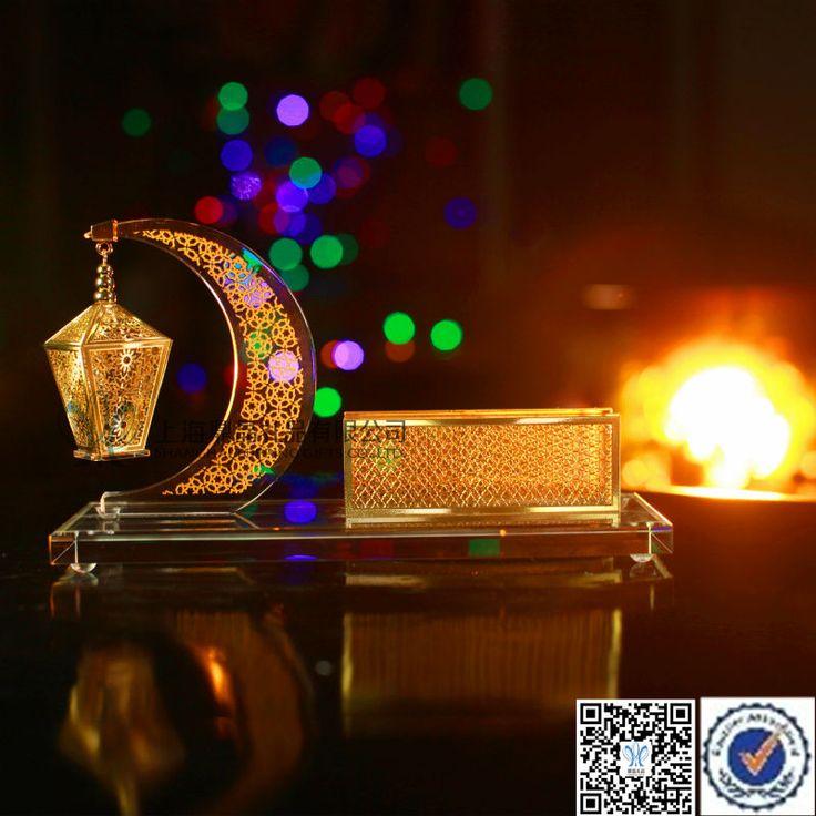 Ramadan Season Crystal Arab Decorative Indoor Lanterns