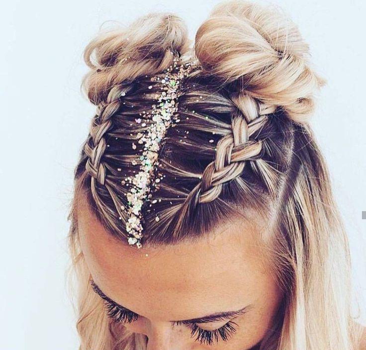Glitter hair❤ – #Glitter #Hair #toner   – aesthetic