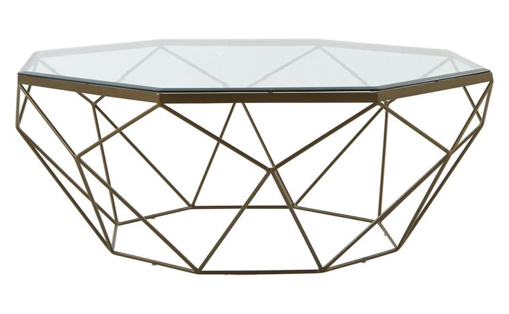 Gardette Coffee Table - Transitional Coffee & Cocktail Tables - Dering Hall